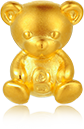 Teddy Bear-Teddy bear is a child's best friend. It symbolizes the child's future success in making friends.