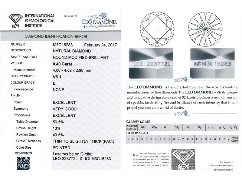 Diamond Certification Mabelle