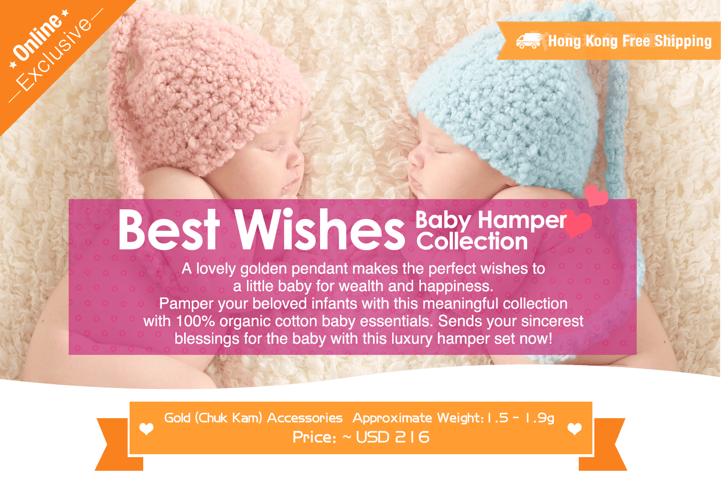 Best Wishes Baby Hamper Gifting Collection Desktop