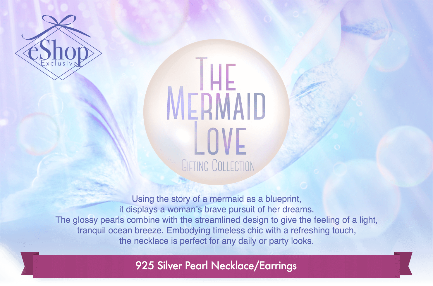 The Mermaid Love Pearl Gifting Collection