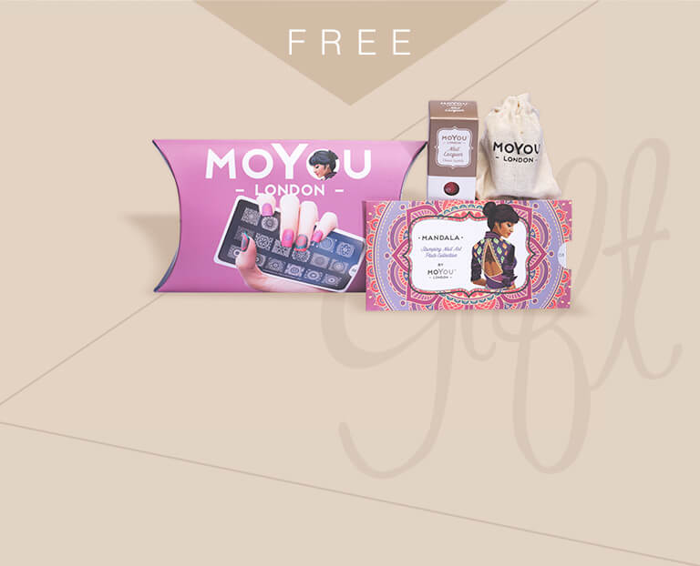 Give yourself a fresh new look? Receive a complimentary 'MoYou-London Nail Art Set' upon any purchase from this eshop exclusive collection. Creating your favourite nail art with colourful nail polishes and different stamped patterns now.